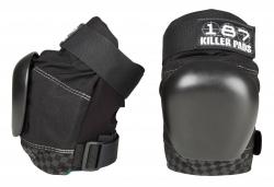 187 Killer Pro Derby Knee Pads M size Black