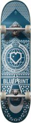 """Blueprint Complete skateboard 8"""" Blue/Black"""