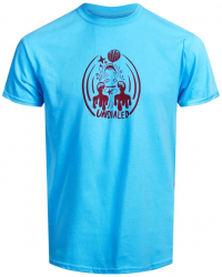 Undialed Frequency T-shirt LightBlue XL