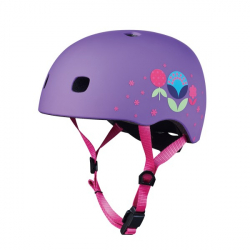 Micro Helmet V2 Floral Purple M size
