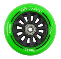Slamm Nylon Core 100mm Wheel (Green)