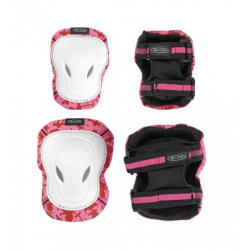 Micro Elbow & Knee Pads White-Pink M