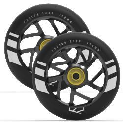 Fuzion Flight Wheels 110mm 2-pack Black