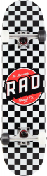 RAD Dude Crew Skateboard (Black/White)