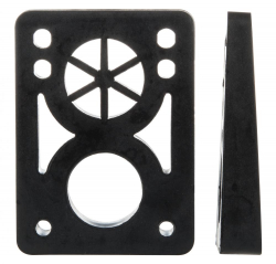 D Street Soft Wedge 8 to 14mm Risers (set of 2)