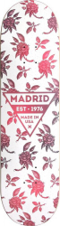 Madrid Skateboard Deck 7-75 Rosa
