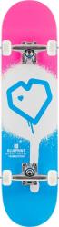"""Blueprint Complete skateboard 7.75"""" Pink/White/LightBlue"""