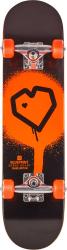 """Blueprint Complete skateboard 7.75"""" Black/Orange"""