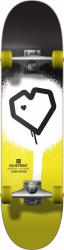 Blueprint Complete skeitbord 7-25 Black Yellow