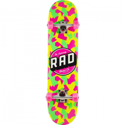 RAD Dude Crew Skateboard (Yellow)