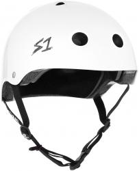S-One V2 Mega Lifer Helmet S White Glossy