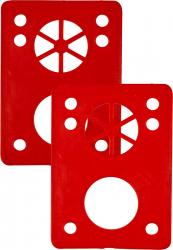 Essentials 1-8 Riser Pads set of 2 Red