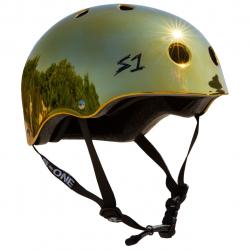 S-One V2 Lifer Helmet M Gold Mirror Gloss