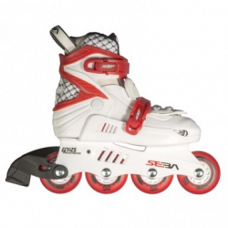 Seba Junior Inline Skates White/Red 27-30 size
