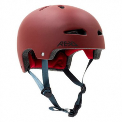Rekd Ultralite In-Mold Helmet Dark Red S/M