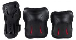 SFR Triple Pads Set AC760 L size red-Black