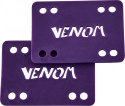 Venom 1-8 Risers set of 2 Purple