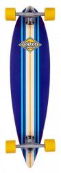 D Street Pintail Ocean Longboard Blue
