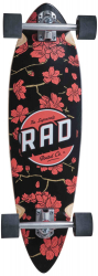 RAD Mini Pintail Longboard Cherry Blossom