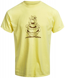 Undialed Geothermal T-shirt Yellow XL