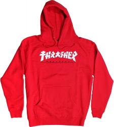Thrasher Hoodie Godzilla Red S size