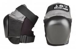 187 Killer Pro Derby Knee Pads M size Grey