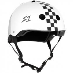 S-One V2 Lifer Helmet M White Checkerboard