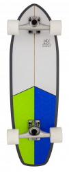 D Street Surfskate (Blue/Green)