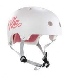 Rio Roller Script Helmet White