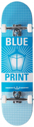 """Blueprint Complete skateboard 8"""" LightBlue"""