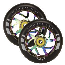 Fuzion Flight Wheels 110mm 2-pack Neochrome