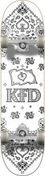 KFD Bandana Complete Skateboard 8 White