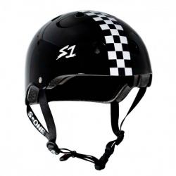 S-One V2 Lifer Helmet M Black Checkerboard