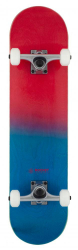 Rocket Complete Skateboard 7.5 Double Dipped Red