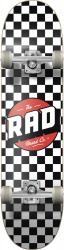 RAD Dude Crew Skateboard (Black/White)