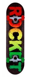 Rocket Complete Skateboard 7.5 Popart Mini
