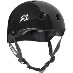 S-One V2 Mega Lifer Helmet S Black Glossy