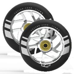 Fuzion Flight Wheels 110mm 2-pack Silver