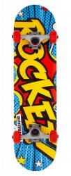 Rocket Complete Skateboard 7.5 Yellow\Blue