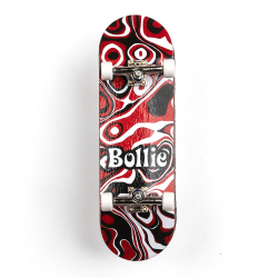 Bollie Fingerboard Psychedelic Red
