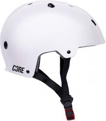 CORE Basic Helmet Black S-M White
