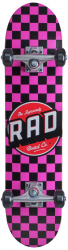 RAD Dude Crew Skateboard Pink