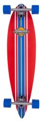 D Street Pintail Ocean Longboard Red