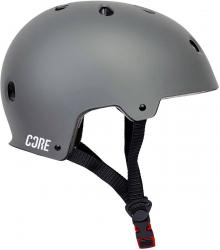 CORE Basic Helmet Black S-M Grey