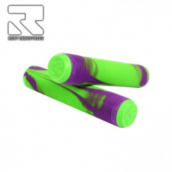 ROOT AIR GRIPS (Green/Violet)