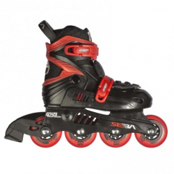 Seba Junior Inline Skates Black/Red 27-30 size