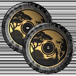 Fuzion Hollowcore Isiah Samms Wheels 110mm 2-pack