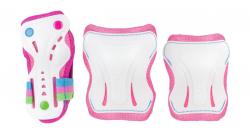 SFR Triple Pads Set AC760 (L size) (Pink/White)