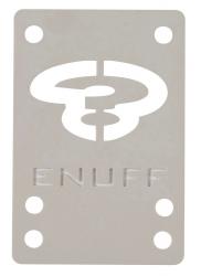Enuff Skateboards Shock Pads 1mm White