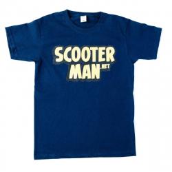 Scooterman.net T-shirt Blue M